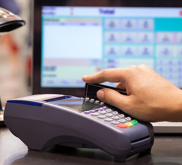 日用品メーカー-新規出店時のPOSレジ導入